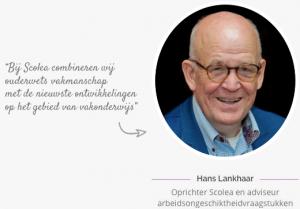 Hans Lankhaar verzuimexpert Scolea