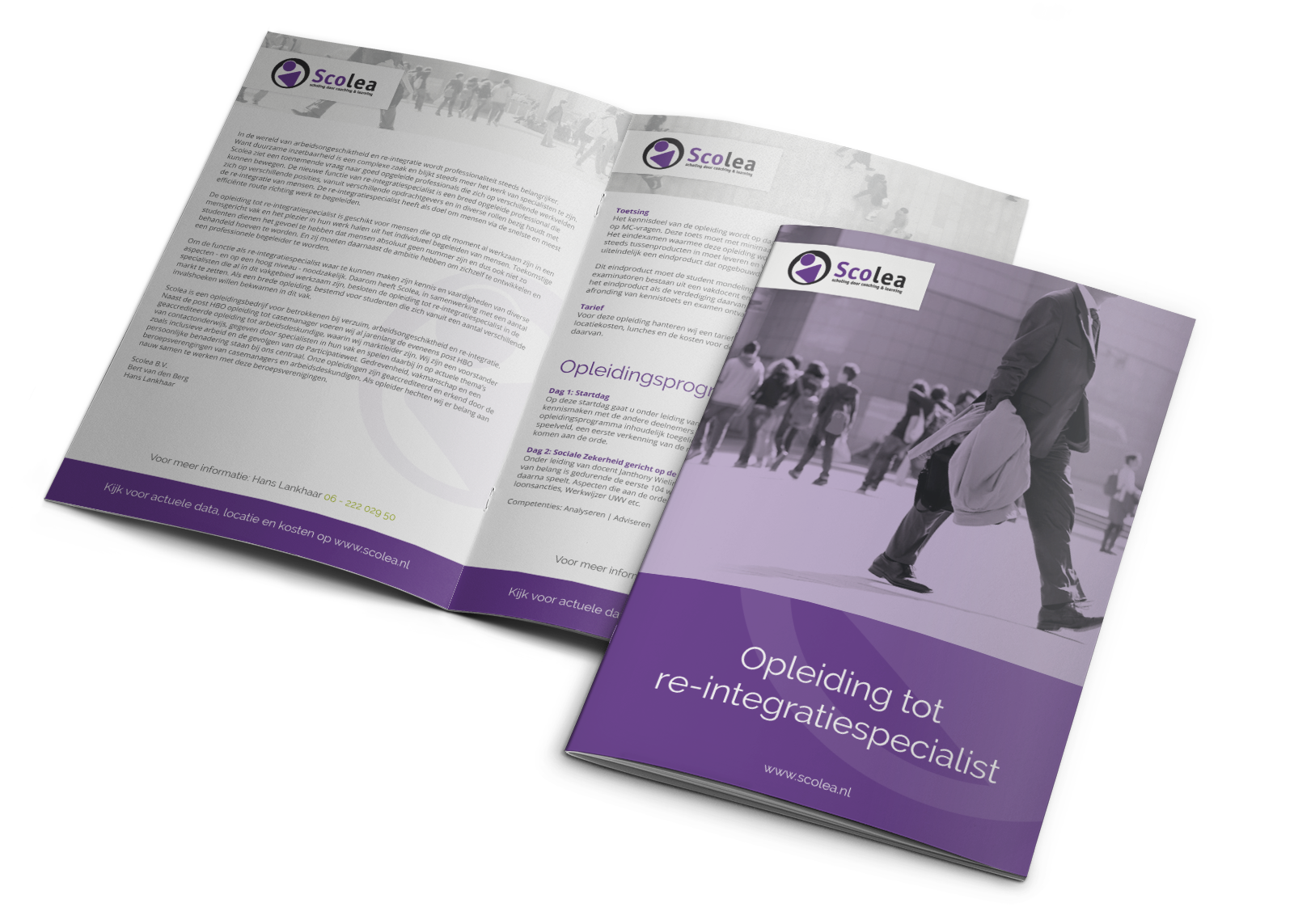 Re-integratiespecialist brochure Scolea