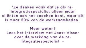 Werkdag re-integratiespecialist