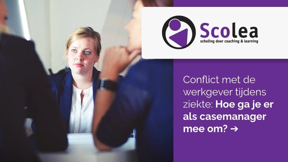 Conflict met de werkgever